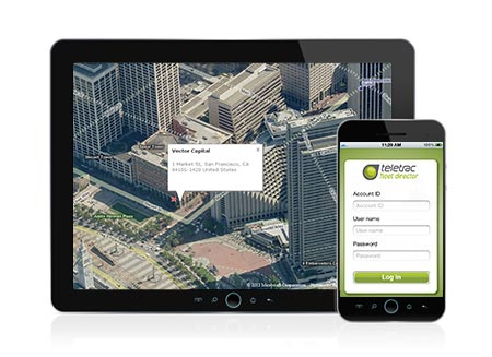 Fleet management via mobile devices with Fleet Director iPhone application.