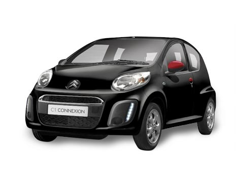Citroen C1 with Teletrac.