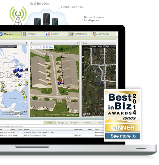 Pinpoint your vehicles location with multi mapping gps tracking.